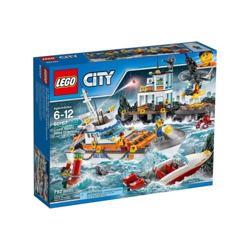 لگو سری City  مدل  Coast Guard Head Quarters 60167