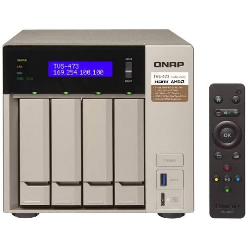 ذخیره ساز تحت شبکه کیونپ مدل TVS-473-8G