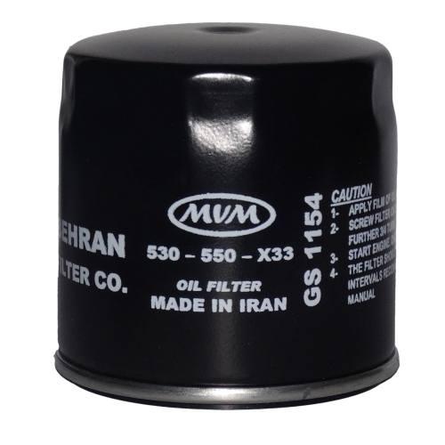 فیلتر روغن خودرو بهران فیلتر مدل GS1154 مناسب برای MVM530