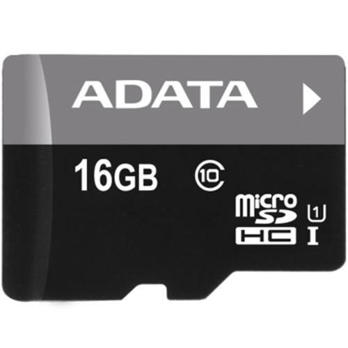 کارت حافظه microSDHC ای دیتا مدل Premier کلاس 10 استاندارد UHS-I U1 سرعت 50MBps ظرفیت 16 گیگابایت