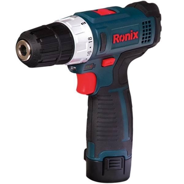 دریل پیچ گوشتی شارژی رونیکس مدل 8612 | Ronix 8612 Cordless Drill Driver