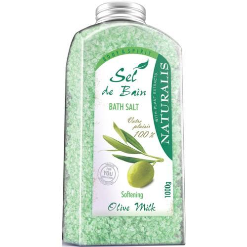 نمک حمام نچرالیس مدل Olive Milk وزن 1000 گرم