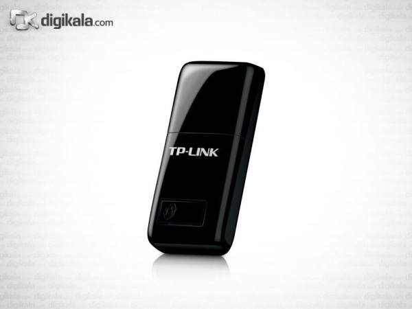 کارت شبکه بیسیم و USB تی پی-لینک مدل TL-WN823N | TP-LINK TL-WN823N 300Mbps Wireless N Mini USB Adapter