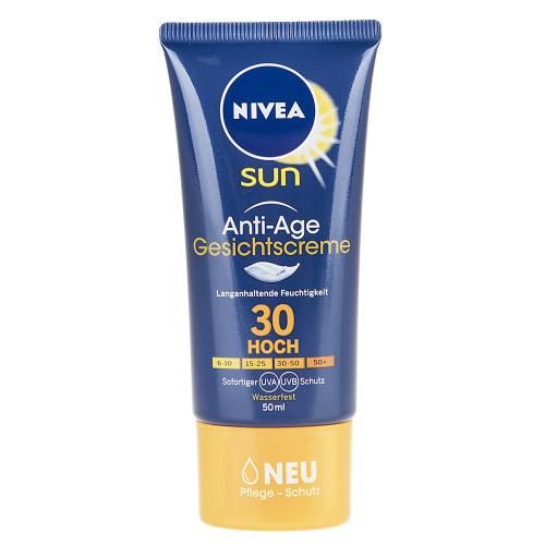 کرم ضد آفتاب و ضد چروک نیوآ مدل Gesichtscreme SPF30 حجم 50 میلی لیتر