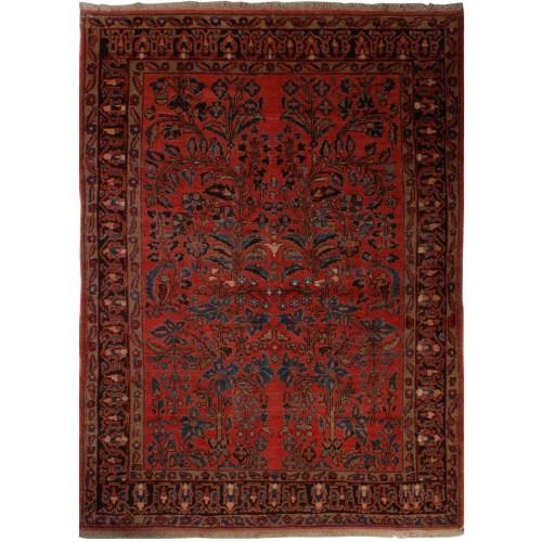 فرش دستبافت قدیمی دو و نیم متری فرش هریس کد 100237