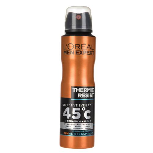اسپری ضد تعریق لورآل سری Men Expert مدل Thermic Resist حجم 150 میلی لیتر