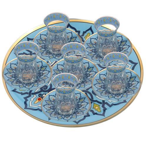 سرویس چای خوری 13 پارچه لاکچری مدل 106