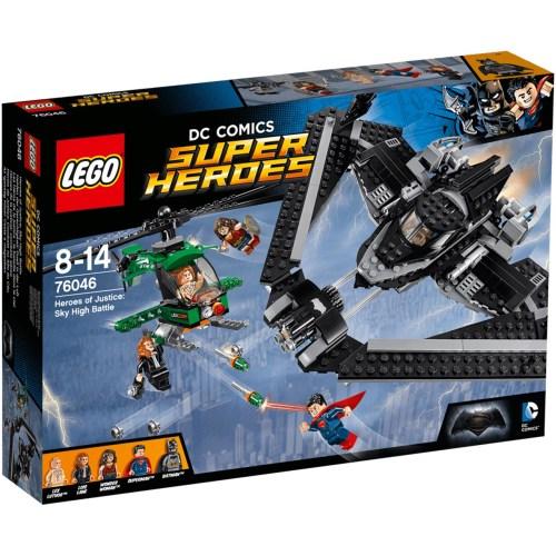 لگو سری Super Heroes مدل Heroes of Justice Sky High Battle 76046