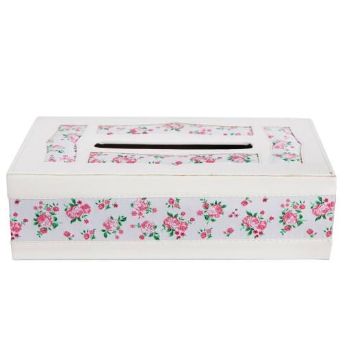 جعبه دستمال چرمی گالری طهرانی کد 191031