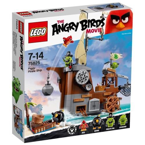 لگو سری Angry Birds مدل Piggy Pirate Ship 75825