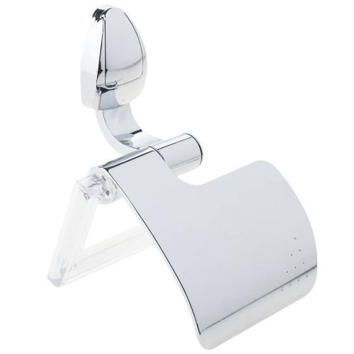 جای دستمال توالت سنی پلاستیک مدل Satin
