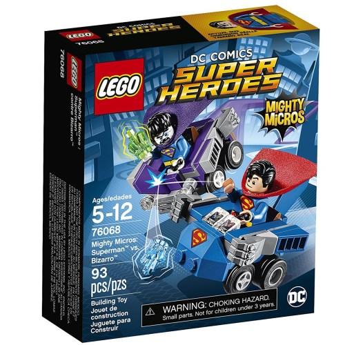 لگو سری Marvel Super Heroes مدل Mighty Micros Superman VS Bizarro 76068