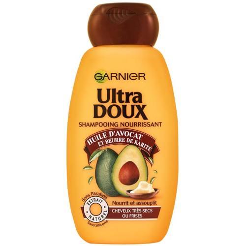 شامپو تغذیه کننده گارنیه سری Ultra Doux مدل Avocado حجم 250 میلی لیتر