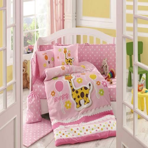 سرویس خواب کودک هابی هوم مدل Puffy  یک نفره 10 تکه