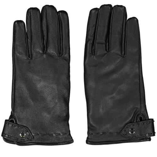 دستکش مردانه چرم مشهد مدل Black R0522