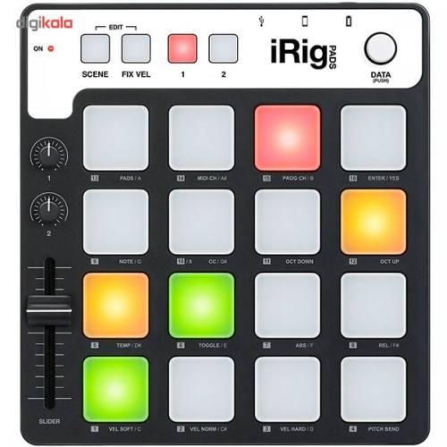 میدی کنترلر  آی کی مالتی مدیا مدل  iRig Pads