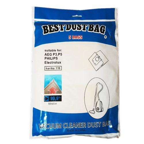 کیسه جاروبرقی کاغذی مناسب برای جاروبرقی فیلیپس، الکترولوکس و آاگ