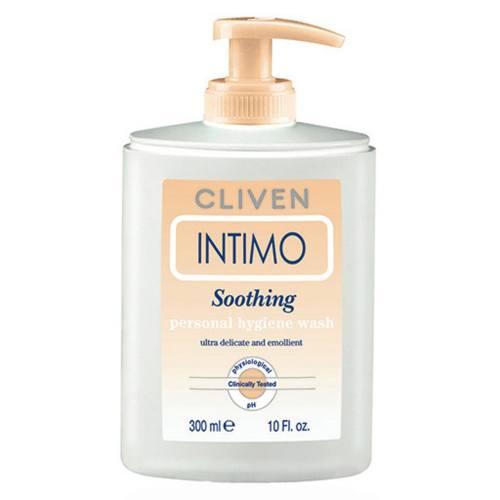 محلول شستشو و ضد عفونی کننده بانوان کلیون مدل Intimo Soothing Personal Hygiene Wash حجم 300 میلی لیتر