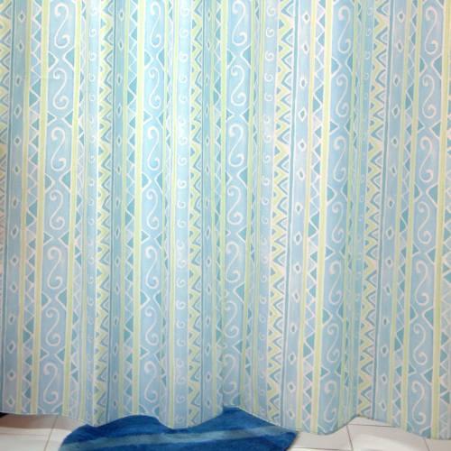 پرده حمام فرش مریم مدل Egypt - سایز 180 × 240 سانتی متر