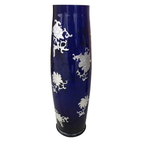 گلدان شیشه ای مدل استوانه ای