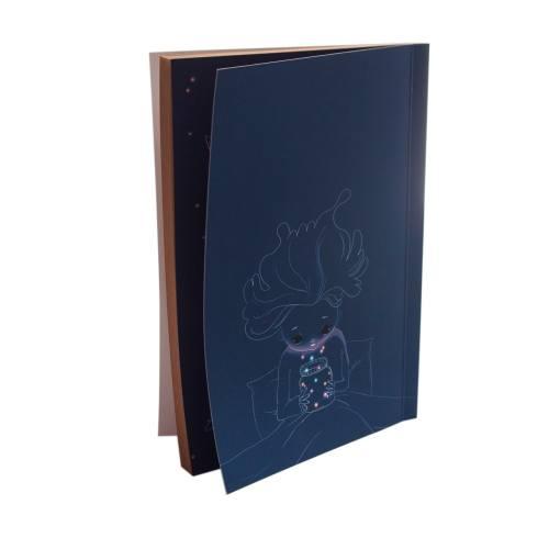 دفتر یادداشت بیگای استودیو مدل ستاره ها