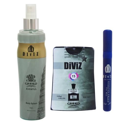 پک آرایشی و بهداشتی مردانه دیوایز مدل Aventus کد 2