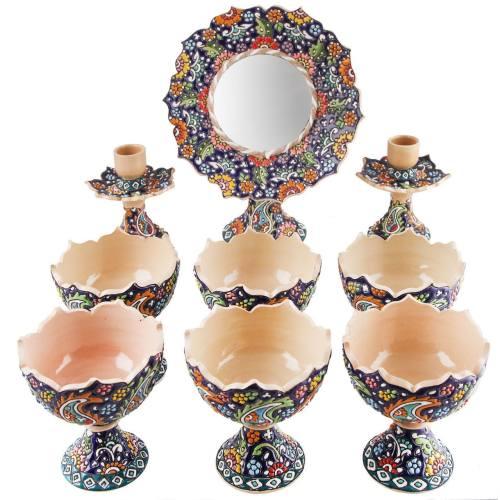 مجموعه ظروف هفت سین 9 پارچه گالری هیراد کد 79068