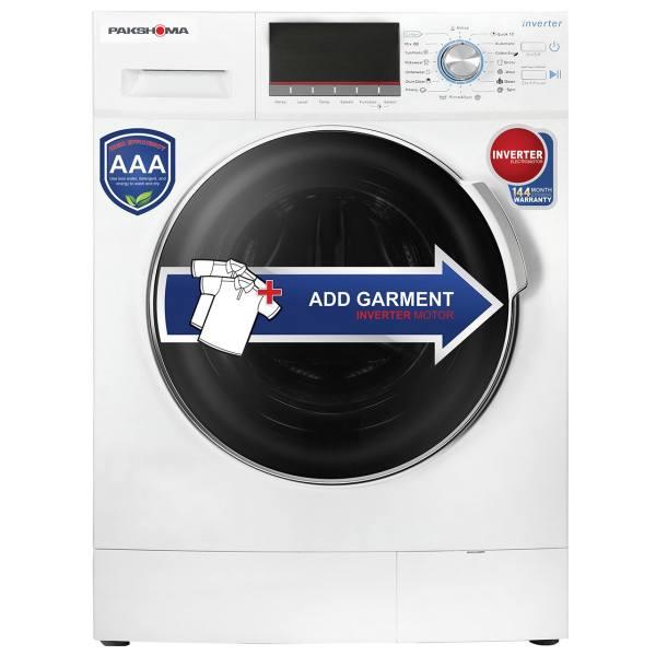 ماشین لباسشویی پاکشوما مدل WFI-91429 ظرفیت 9 کیلوگرم | Pakshoma WFI-90429 Washing Machine - 9 Kg