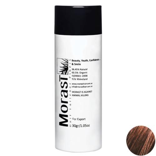 پودر پرپشت کننده موی مورست مدل Mocha مقدار 30 گرم