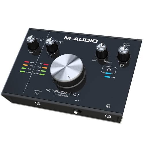 کارت صدای استودیو ام-آدیو مدل M-Track 2x2