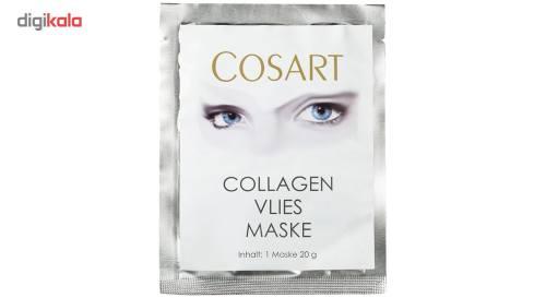ماسک Collagen کوزارت مدل نقابی مقدار 100 گرم