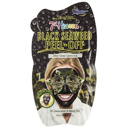ماسک صورت مونته ژنه سری 7th Heaven مدل Black Seawees حجم 10 میلی لیتر