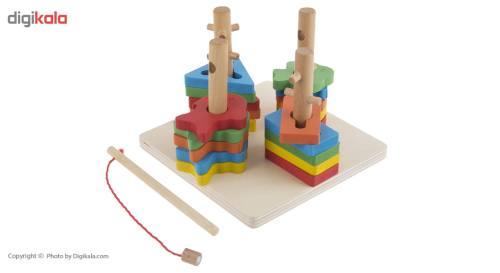 بازی آموزشی مدل High Quality Four Sets Of Columns