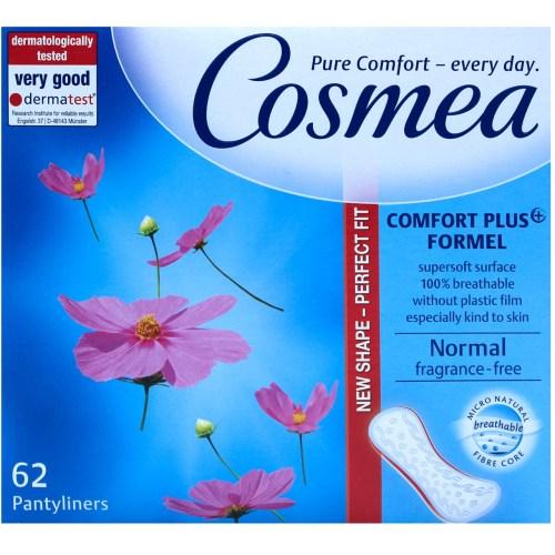 پد بهداشتی روزانه کاسمیا مدل Pure Comfort بسته 62 عددی