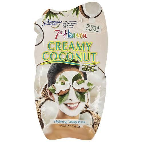 ماسک صورت مونته ژنه سری 7th Heaven مدل Creamy Coconut حجم 15 میلی لیتر