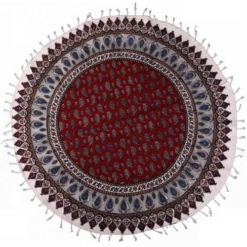 سفره قلمکار ممتاز اثر نرگس خانی مدل 05- 09 سایز 100 سانتیمتر
