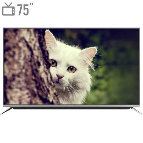 تلویزیون ال ای دی هوشمند دوو مدل DUHD-75H7000-DPB سایز 75 اینچ