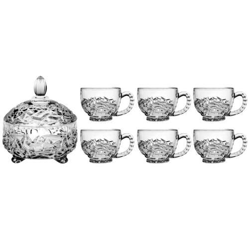 سرویس چای خوری 7 پارچه فایو استار مدل ناتالی کد FCN0002