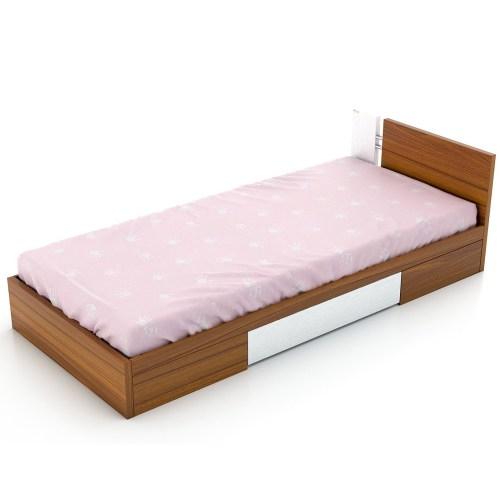 تخت خواب یک نفره فوفل مدل HB 101-A-093-D