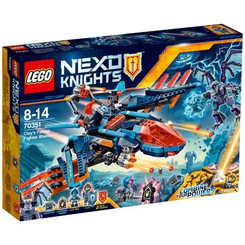 لگو سری Nexo Knights مدل Clays Falcon Fighter Blaster 70351