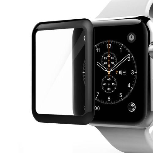 محافظ صفحه نمایش کوتیتکی مدل 4ِD Glass  مناسب اپل واچ سایز 42 میلی متر
