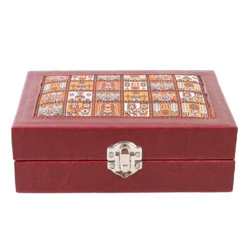 جعبه چرمی طهرانی کد 191010