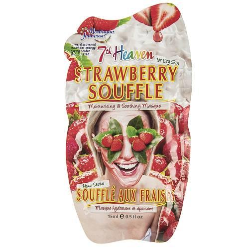 ماسک صورت مونته ژنه سری 7th Heaven مدل Strawberry Souffle حجم 15 میلی لیتر