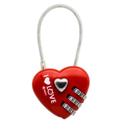 قفل اویز بویا طرح قلب