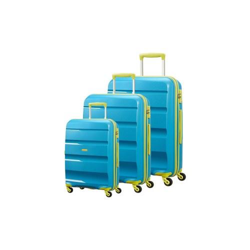 مجموعه سه عددی چمدان امریکن توریستر مدل Bon Air کد 85A