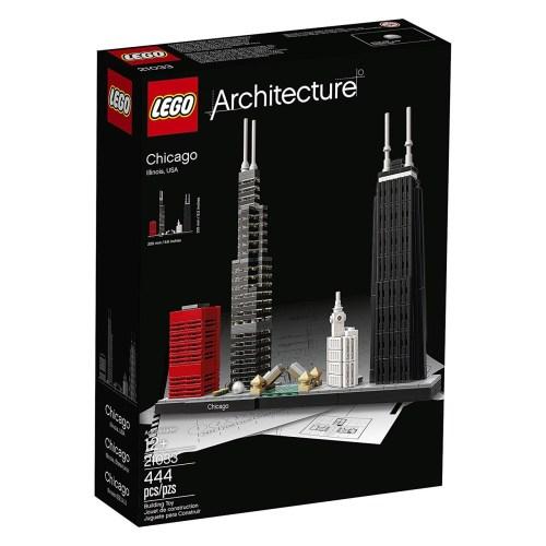 لگو سری  Architecture  مدل Chicago 21033