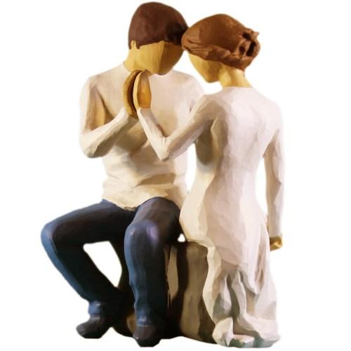 مجسمه امین کامپوزیت مدل درکنارتو کد 78