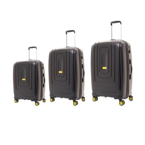 مجموعه سه عددی چمدان امریکن توریستر مدل Lightrax کد AD8