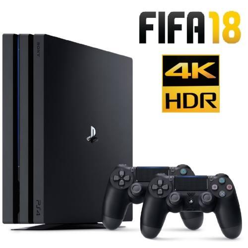 کنسول بازی سونی مدل Playstation 4 Pro ریجن 2 کد CUH-7116B ظرفیت 1 ترابایت