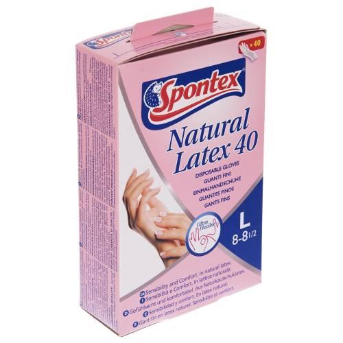 دستکش یکبار مصرف اسپانتکس کد 2284 - سایز بزرگ